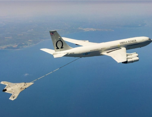 KC-135R Mid-Air Refueling