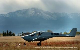 Prototype Nexaer LSA taking off