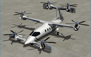 Oliver VTOL Hexplane
