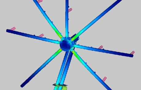 Finite Element Analysis of the Spray Rig