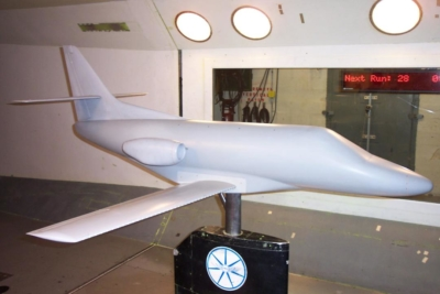 Wind tunnel test and management for Safire Aircraft VLJ
