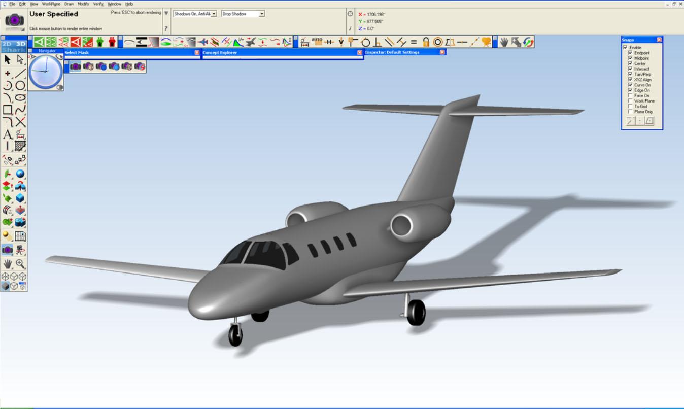 Shark CAD Pro Model
