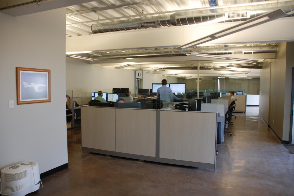Engineers' cubicles